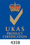 UKAS Product Certification logo